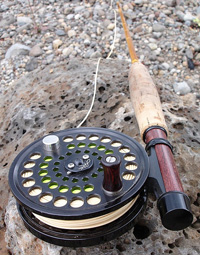 fly rod reel